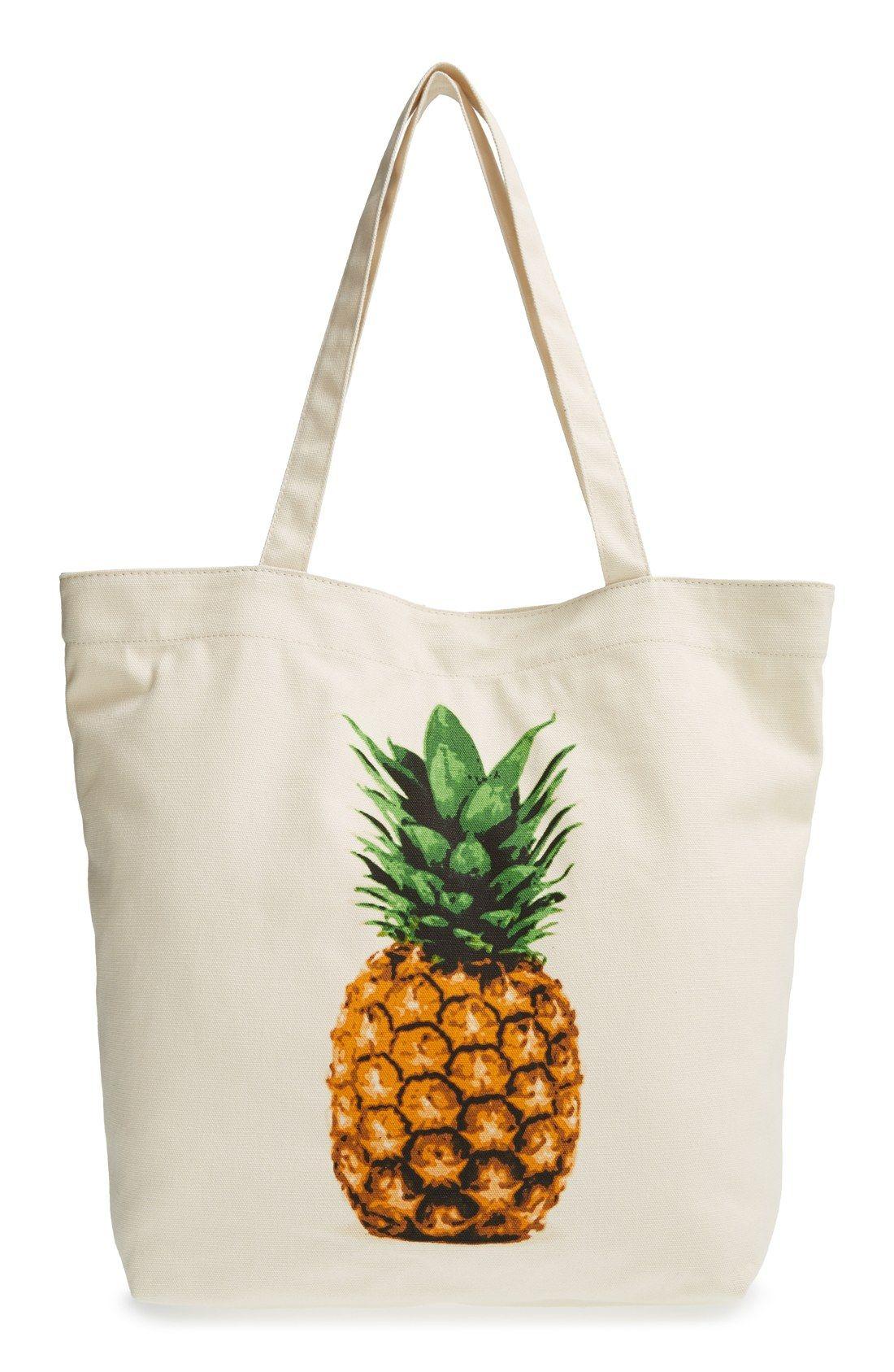 Tote Bag - Pretty Pineapple II by VIDA VIDA V7Iu04LVX
