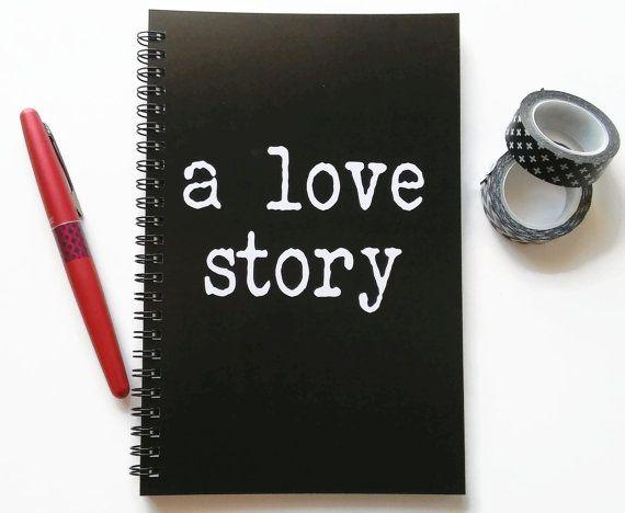 Writing journal, spiral notebook, sketchbook, bullet journal - blank line paper