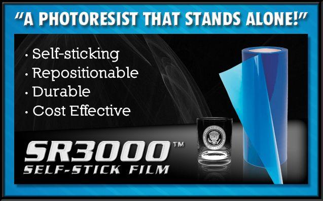 Sr3000 Photoresist Film Glass Art And Etc Glass