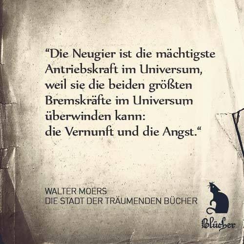Walter Moers Die Stadt Der Träumenden Bücher Zitat Buch