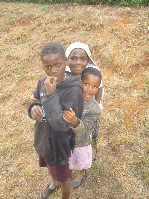 Kids in Tanzania, Africa
