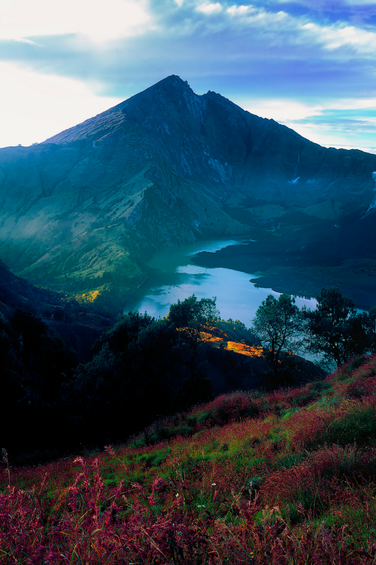"""Catcher of the Eye on Twitter: """"Mount Rinjani by Herry Photos 