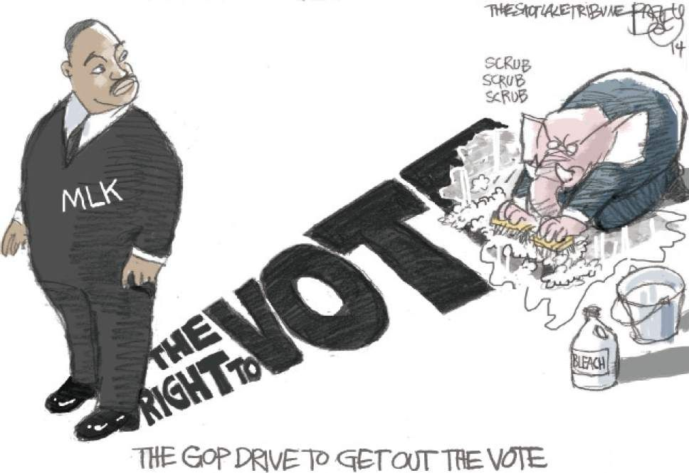 Bagley Cartoon: GOP Gets Out the Vote | The Salt Lake Tribune