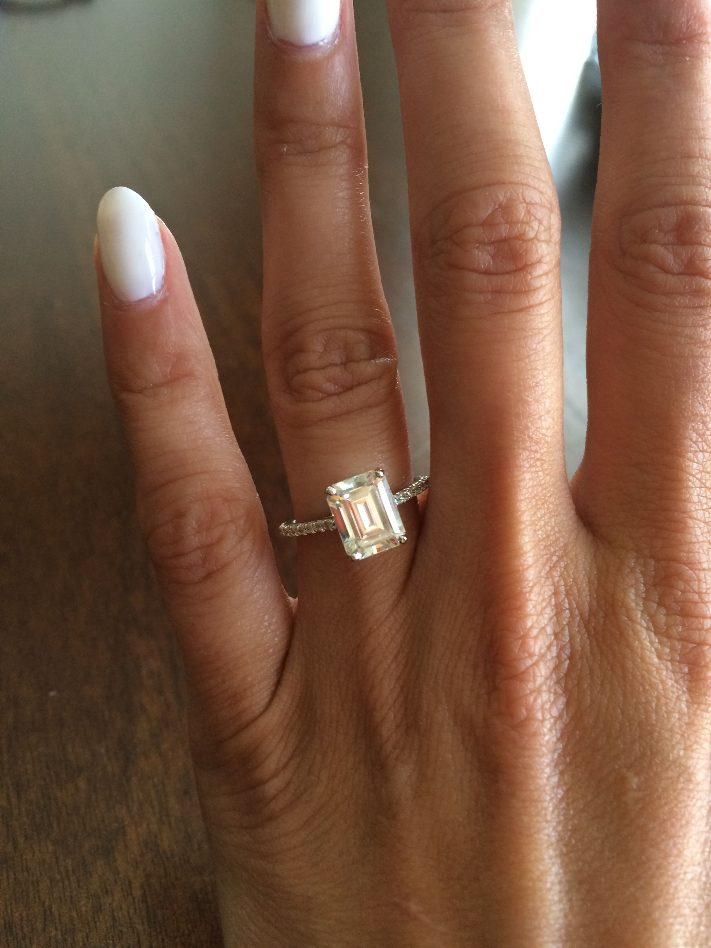 morganite ring new rings my wedding topic