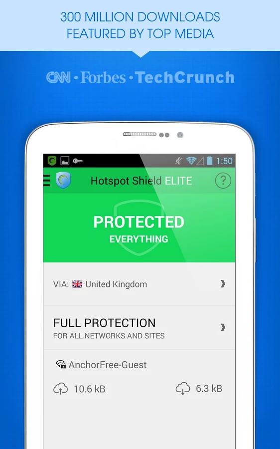 hotspot shield pro hack apk