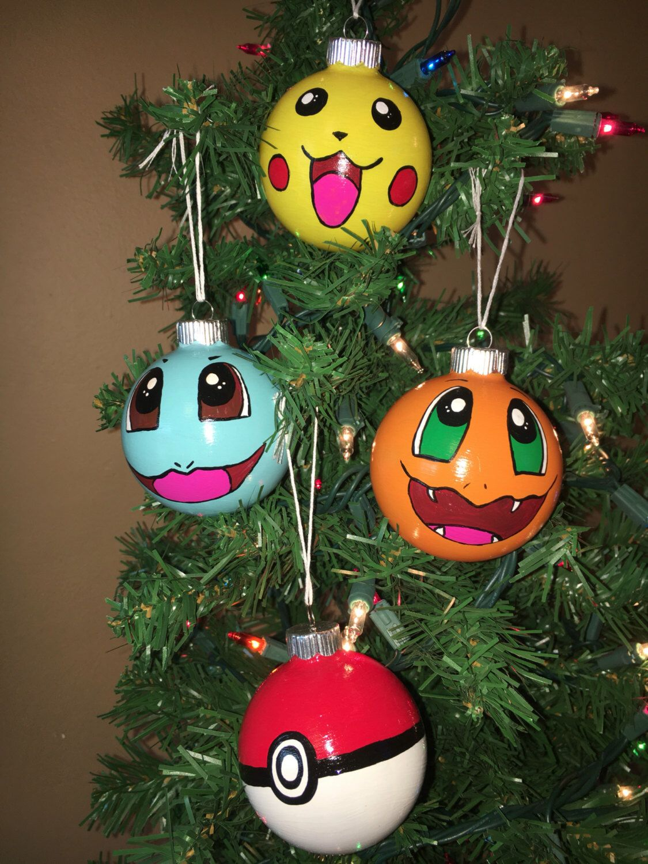 pokemon christmas ornaments by allartscrafty on etsy httpswwwetsycom
