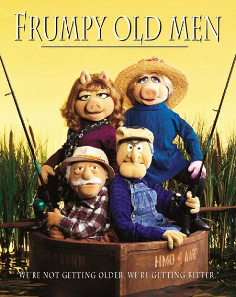 Grumpy Old Men | All Things Movies-Muppet Style! | The