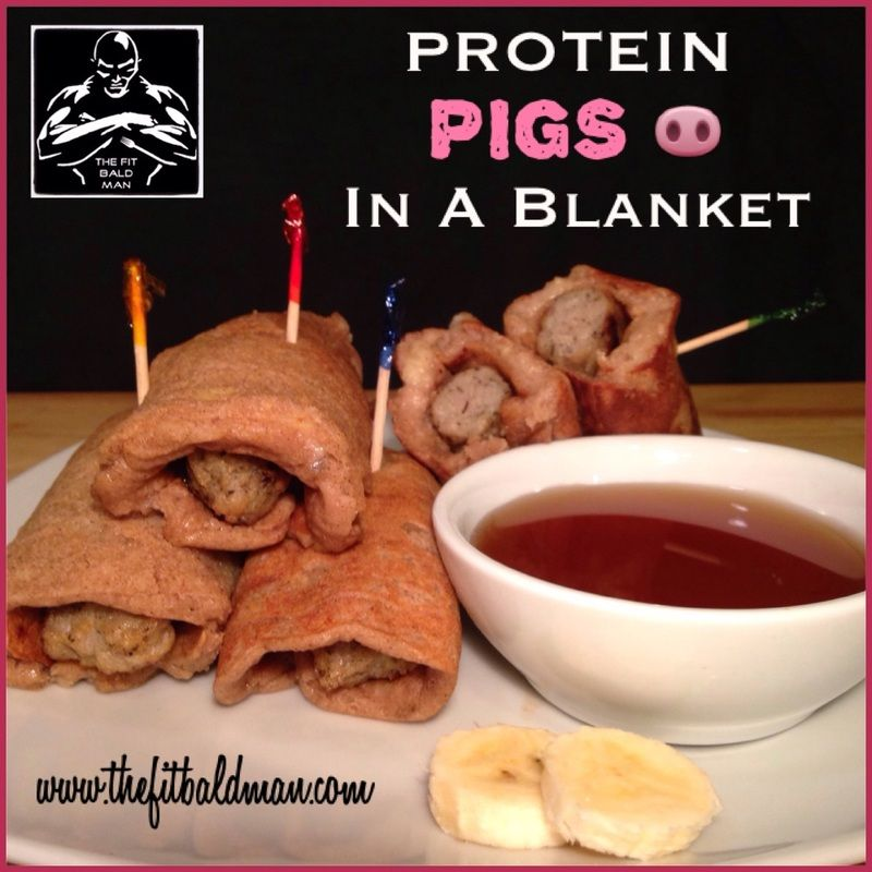 Protein pigs in a blanket the fit bald man home bald man healthy breakfasts forumfinder Gallery
