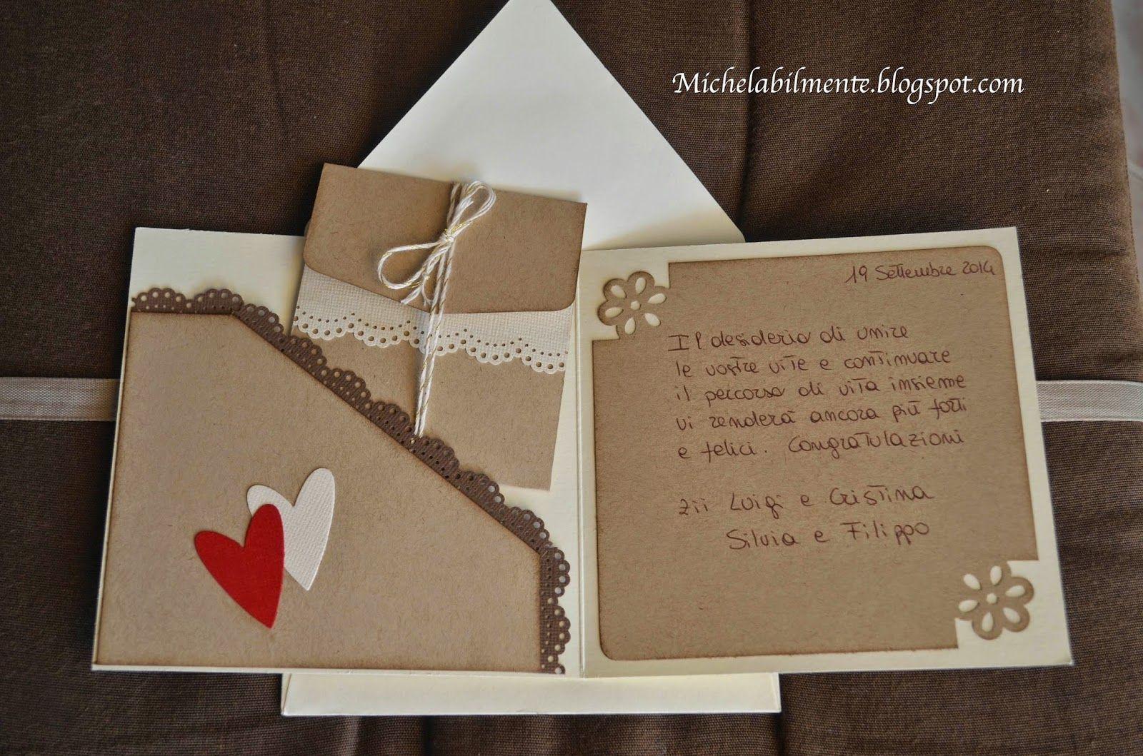 Auguri Matrimonio Busta : Michelabilmente biglietto portasoldi matrimonio cards