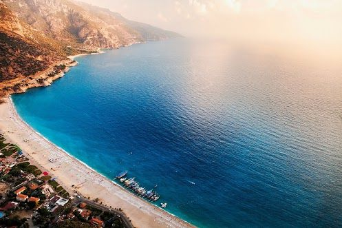Famous Blue Lagoon, Muğla Province, South West Turkey