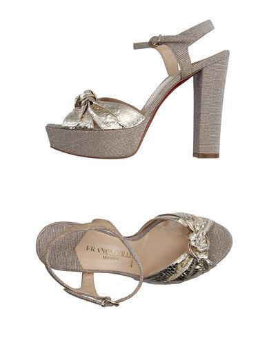 FRANCO COLLI Women's Sandals Platinum 8.5 US