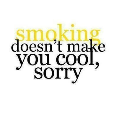 Anti Smoking Quotes Interesting There's Nothing Cool About Smoking  Quotes & Phrases  Pinterest