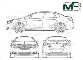 Buick verano 2012 drawing ai cdr cdw dwg dxf eps gif jpg buick verano 2012 drawing ai cdr cdw dwg dxf malvernweather Images