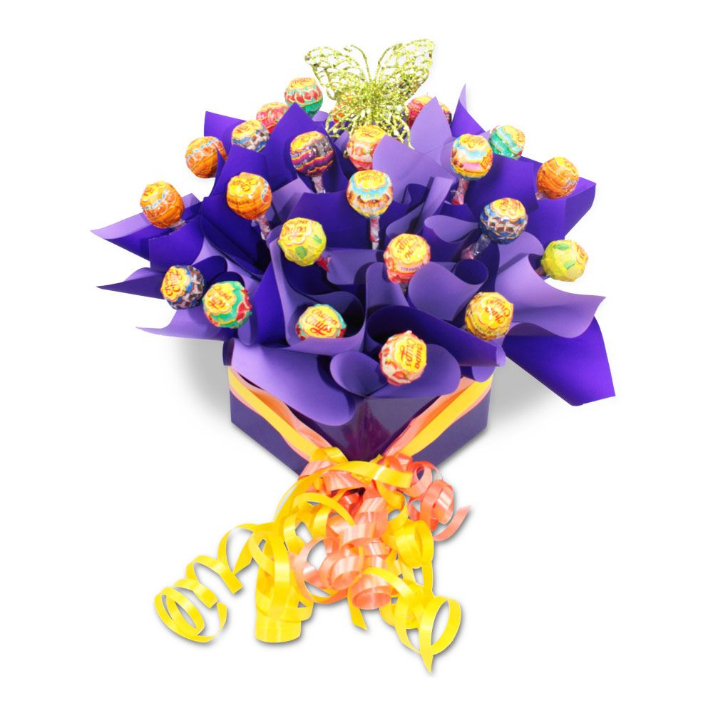 Chupa Chup Lolly Box Delivery Sydney Chocolate flowers