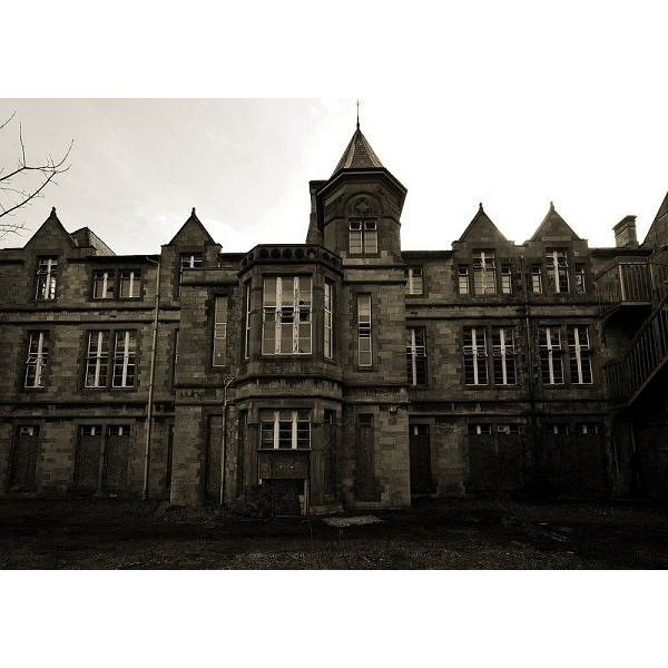 Denbigh Asylum, North Wales Liked On Polyvore Featuring