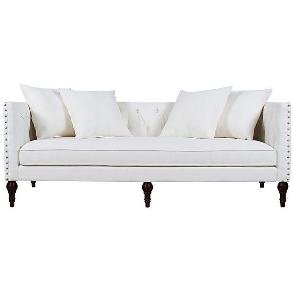 Surrey 83  Tufted Tuxedo Sofa Off White Sofas   Loveseats   1 276. Surrey 83  Tufted Tuxedo Sofa Off White Sofas   Loveseats   1 276