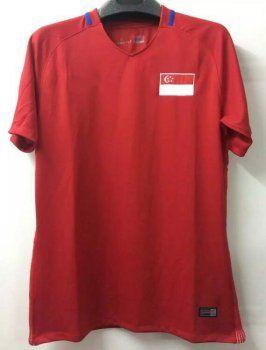 Singapore National Team 2017 Home Red Soccer Jersey J405 Soccer Jersey Cheap Football Shirts Jersey Shirt