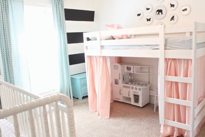 Ikea hack ideas to customize kids beds littles shared room kid beds ikea bunk bed toddler - Boy and girl shared room ideas bunk bed ...