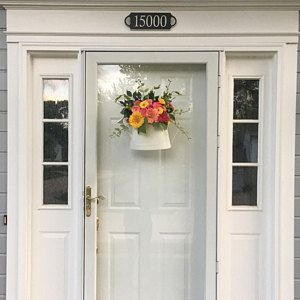 Small Spring Wreaths for front door, Wreaths for Front Door, Wood Door Hanger, Wreath for Front Door, Spring Wreath, Spring Wreaths #doubledoorwreaths