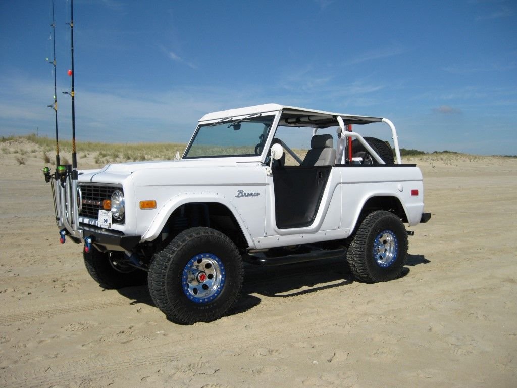 Sand Is An Early Bronco S Best Friend Love Those Half Soft Doors