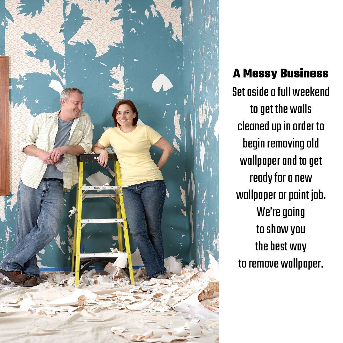 How To Remove Wallpaper Removing old wallpaper, Old