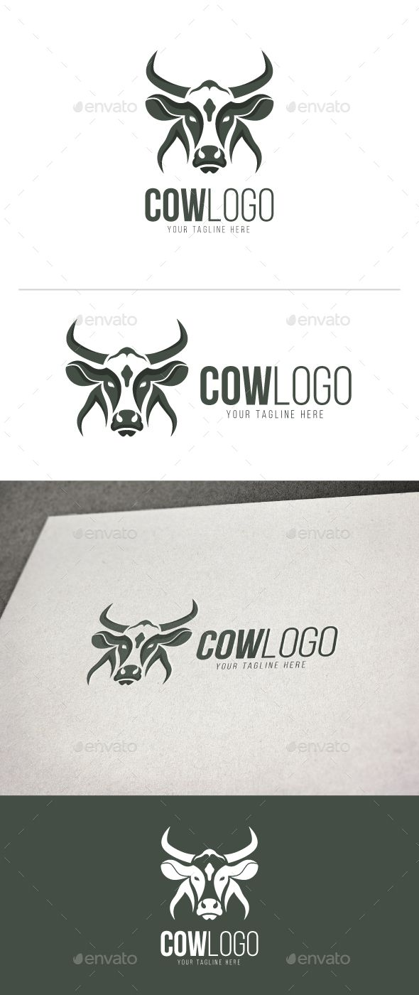 Cow Logo | Pinterest | Logotipos y Vaca