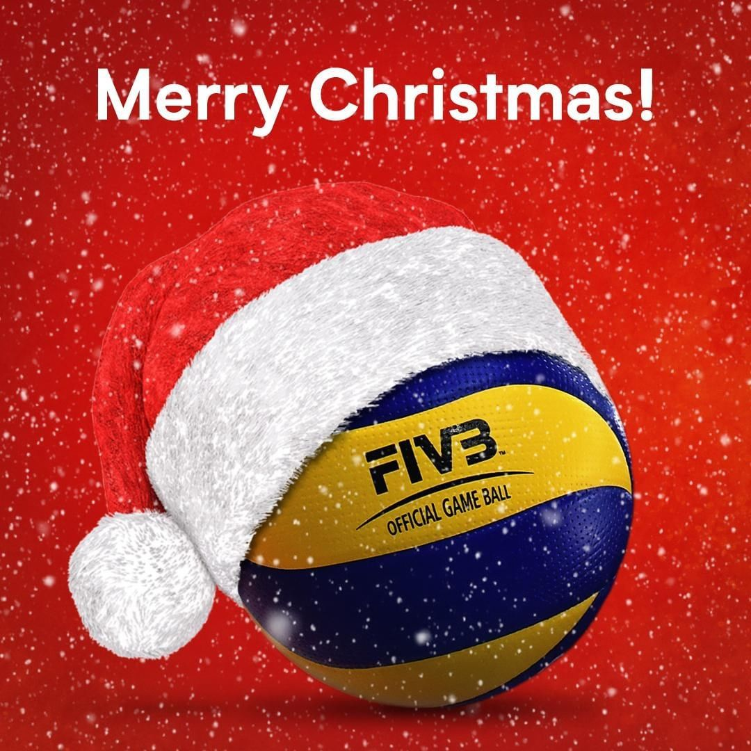 Fivb Volleyball On Instagram Wishing All Of You A Wonderful Holiday Season Merry Christmas Volleyball Volleyball Merry Christmas Christmas Cover