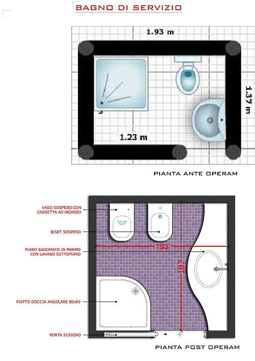 Ristrutturare i bagni | Small bathroom, Exterior design and Master ...