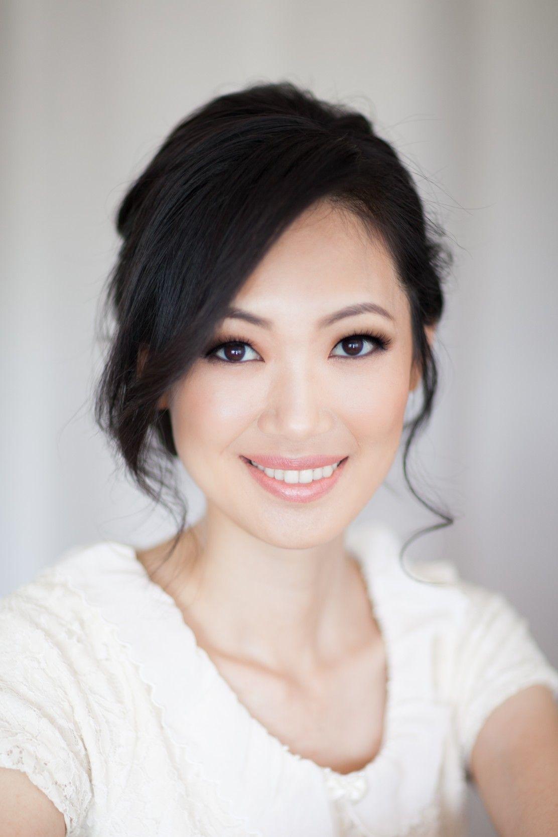 Romantic Asian Bridal Makeup Sydney