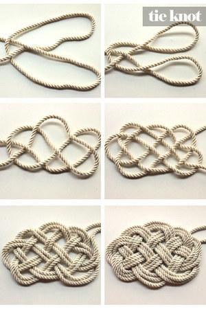 Knots Diy Nautical Rope Rug