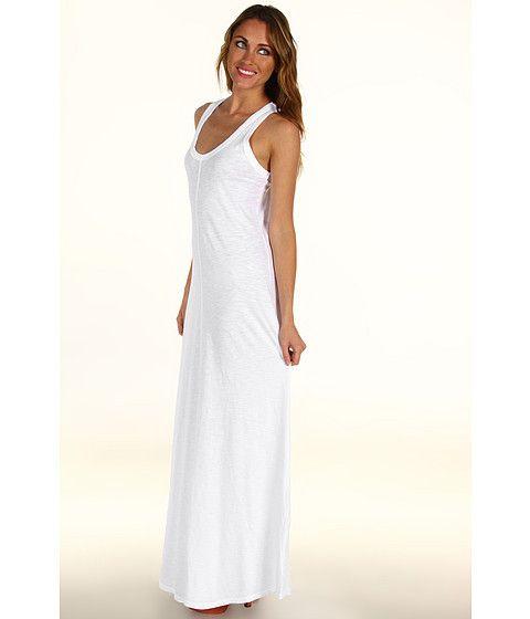AG Adriano Goldschmied Daria Racerback Maxi Dress Midnight - Zappos.com Free Shipping BOTH Ways