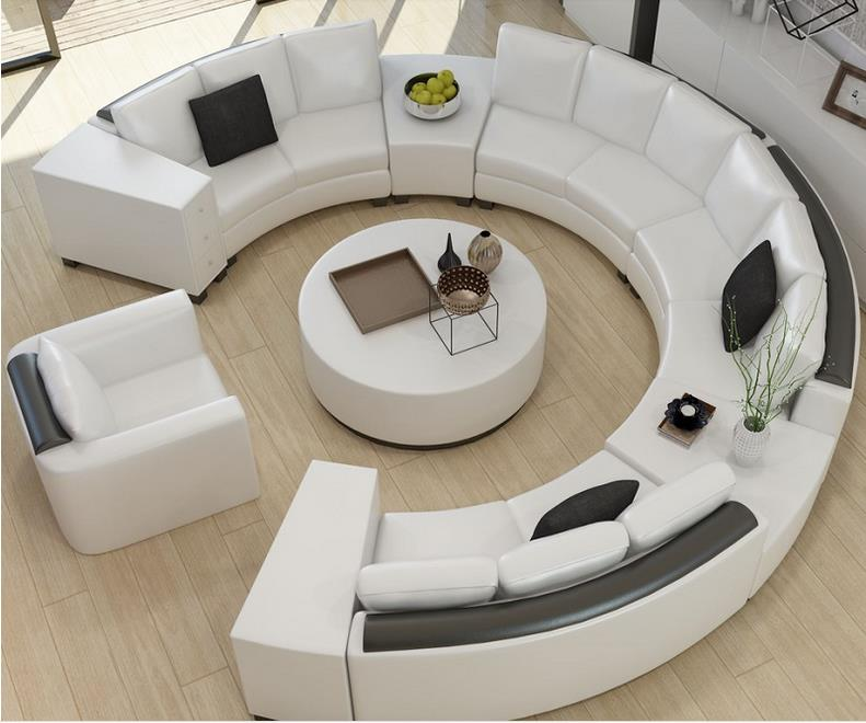 Most Beautiful Contemporary Curved Sofa Design Ideas Living Room Sofa Design Leather Sofa Living Room