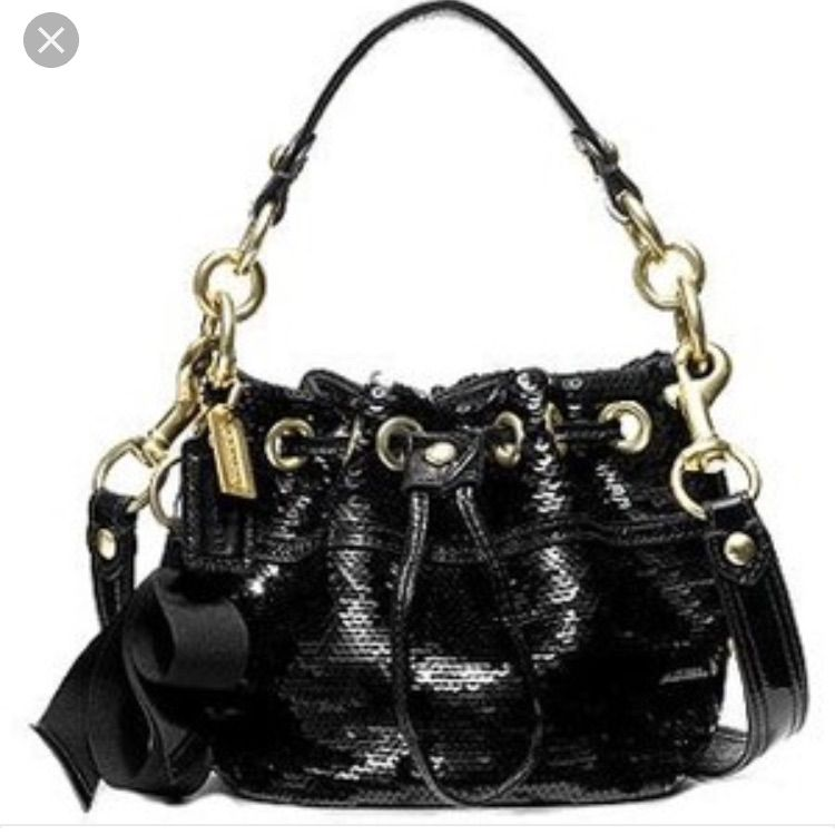 Coach limited edition sequin bucket bag  c82044018e614
