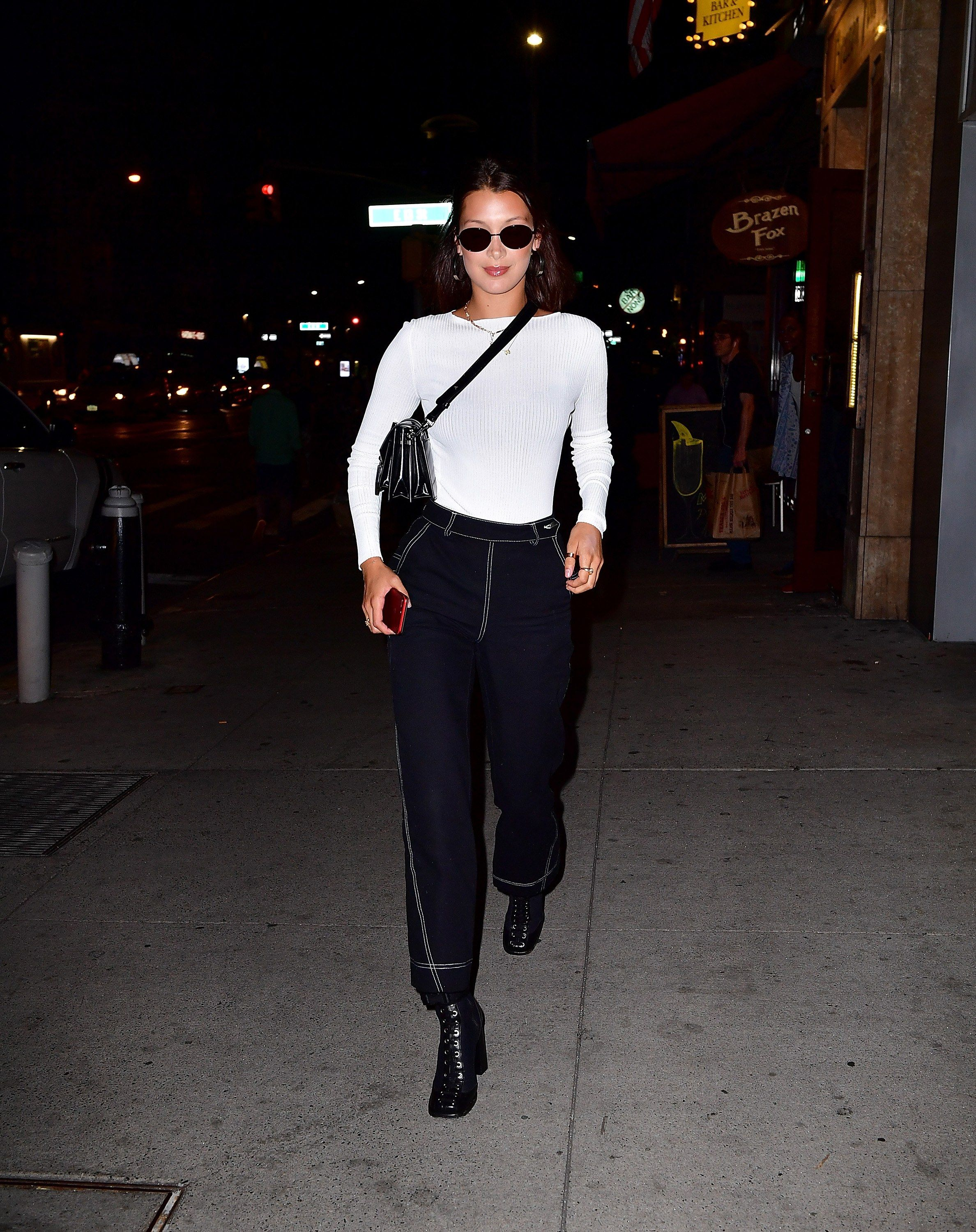 Bella Hadid Is the Reigning Queen Of Model Off-Duty Style Photos | W Magazine