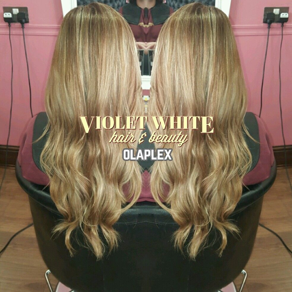 Warm Multitonal Medium Blonde Hair Highlights Lowlights Natural