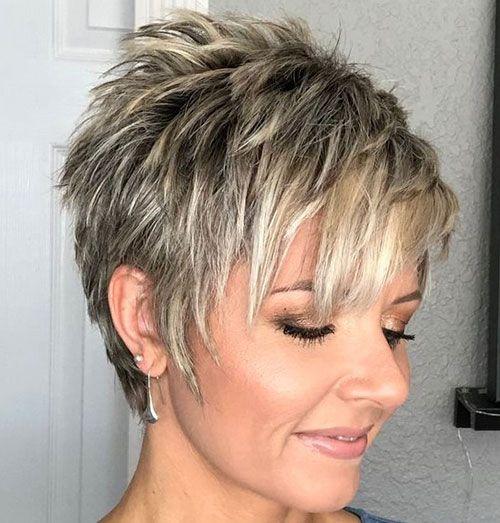 25 Ideen für kurze Pixie-Frisuren für Frauen | hair | Short ...