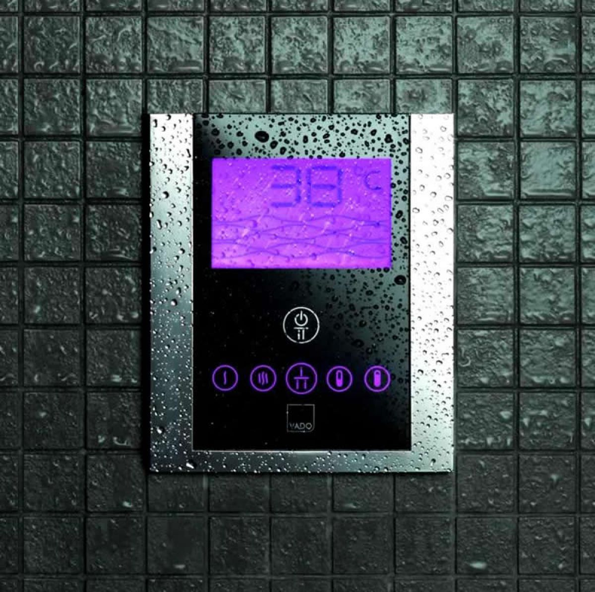Vado Identity Digital Shower Valve With Diverter :