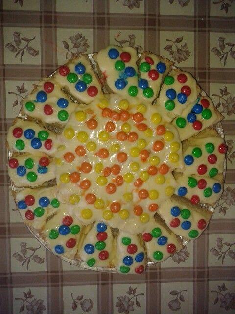 Torta con le caramelle