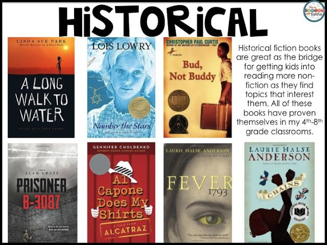 Read Aloud Books For Grade 4th 8th Historical Fiction