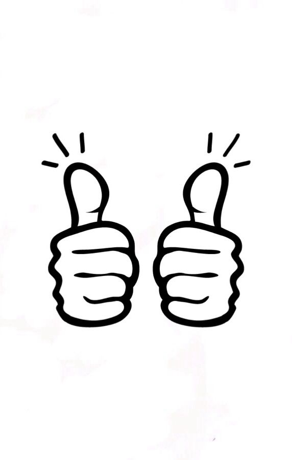two thumbs up linocut pinterest rh pinterest ch Thumbs Up Sign Clip Art Thumbs Pointing to Self