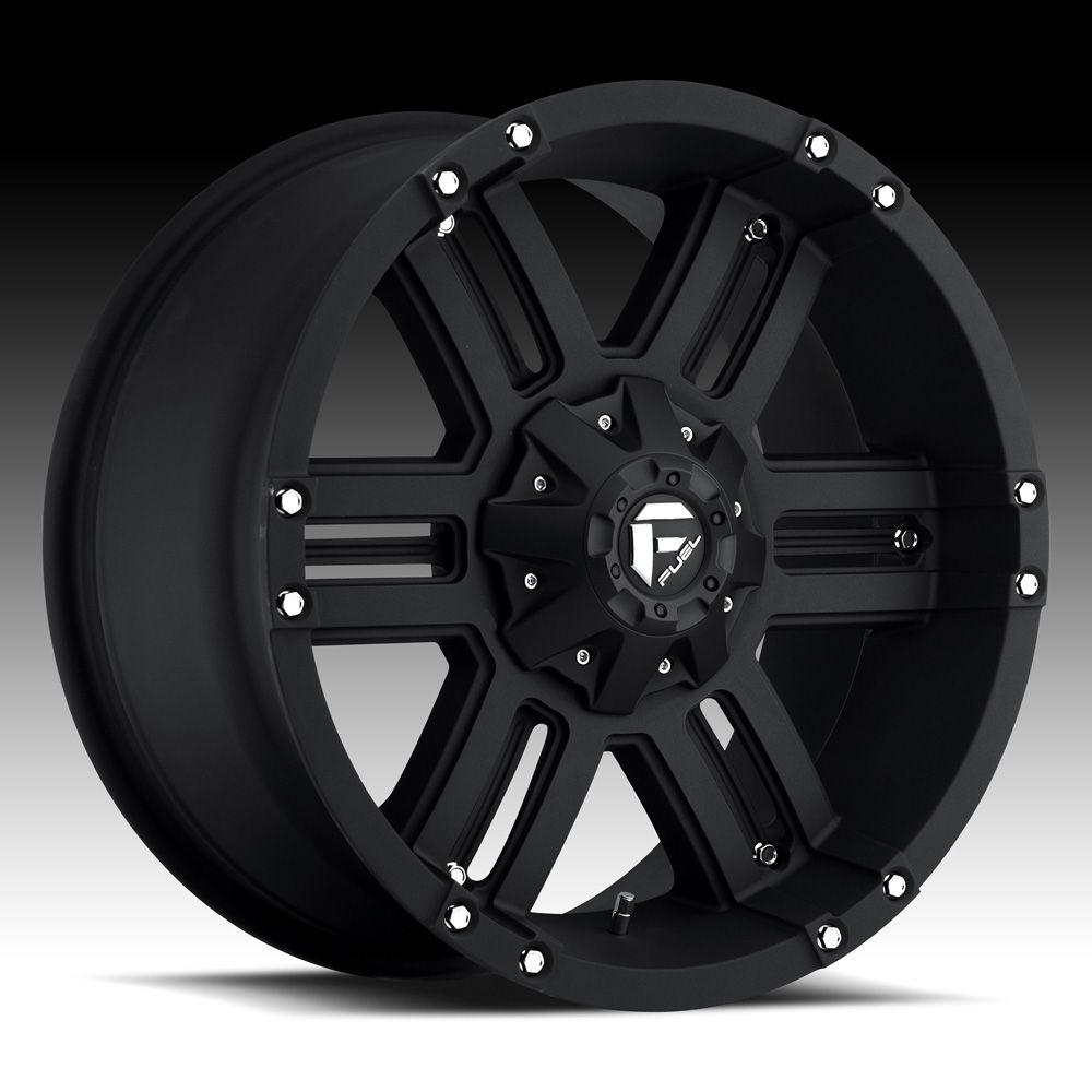 Fuel off road wheels gauge 18 inch 18x9 0 black rims