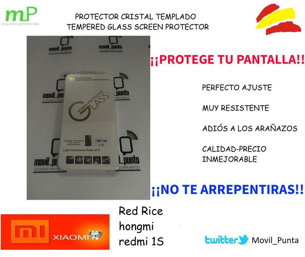 PROTECTOR DE PANTALLA CRISTAL TEMPLADO / TEMPERED GLASS  PARA XIAOMI REDMI #XIAOMI