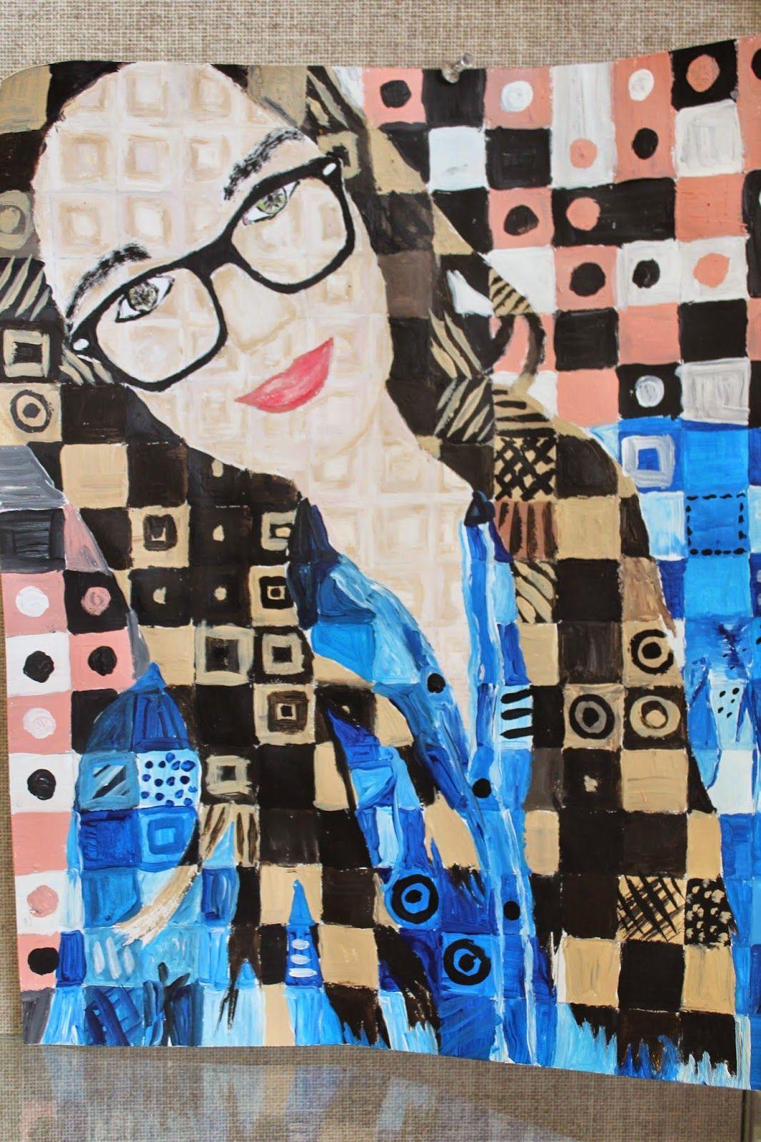 Chuck Close Grid Drawings Art