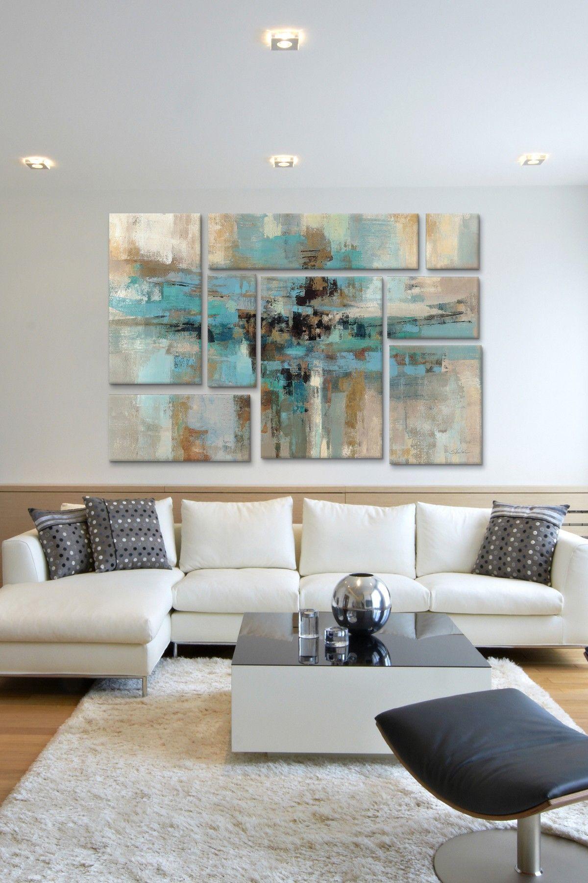 Morning fjord panel sectional wall art on hautelook house ideas
