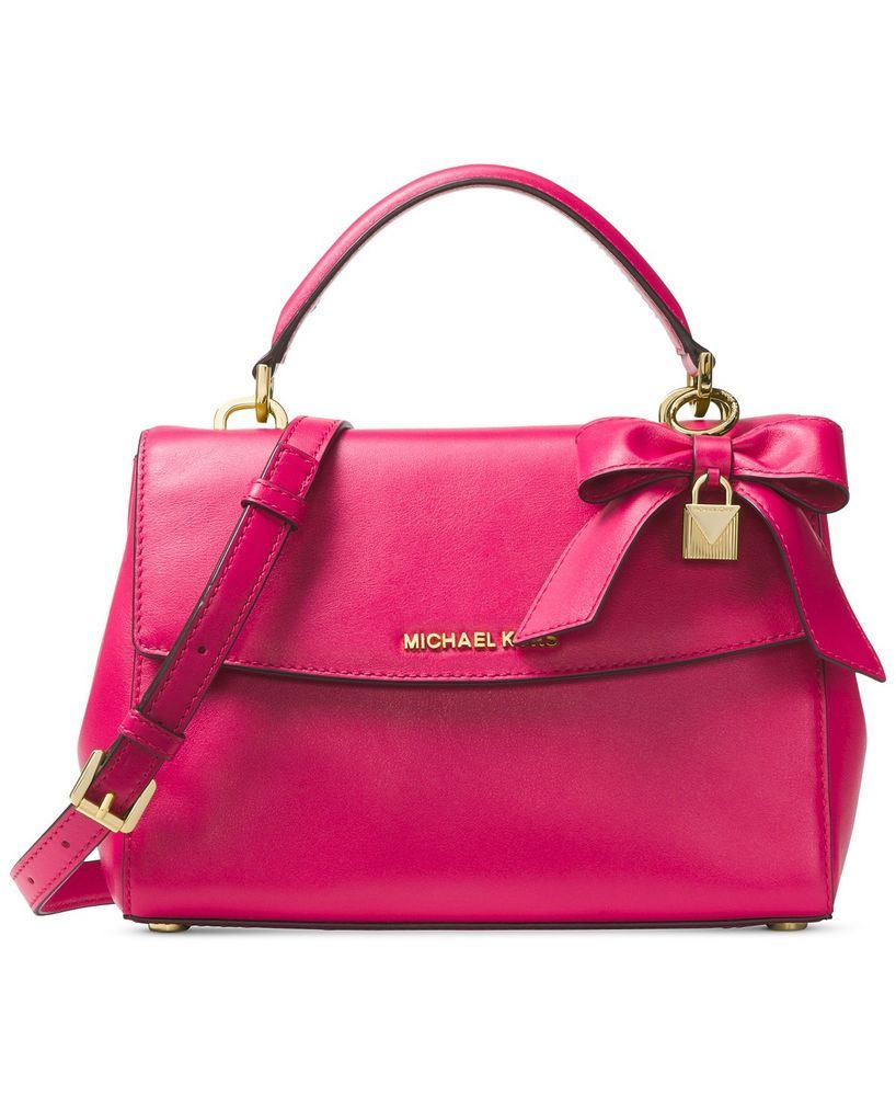 a1da8a992620 MICHAEL Michael Kors Ultra Pink Ava Small Top-Handle Satchel # MICHAELMichaelKors #Satchel