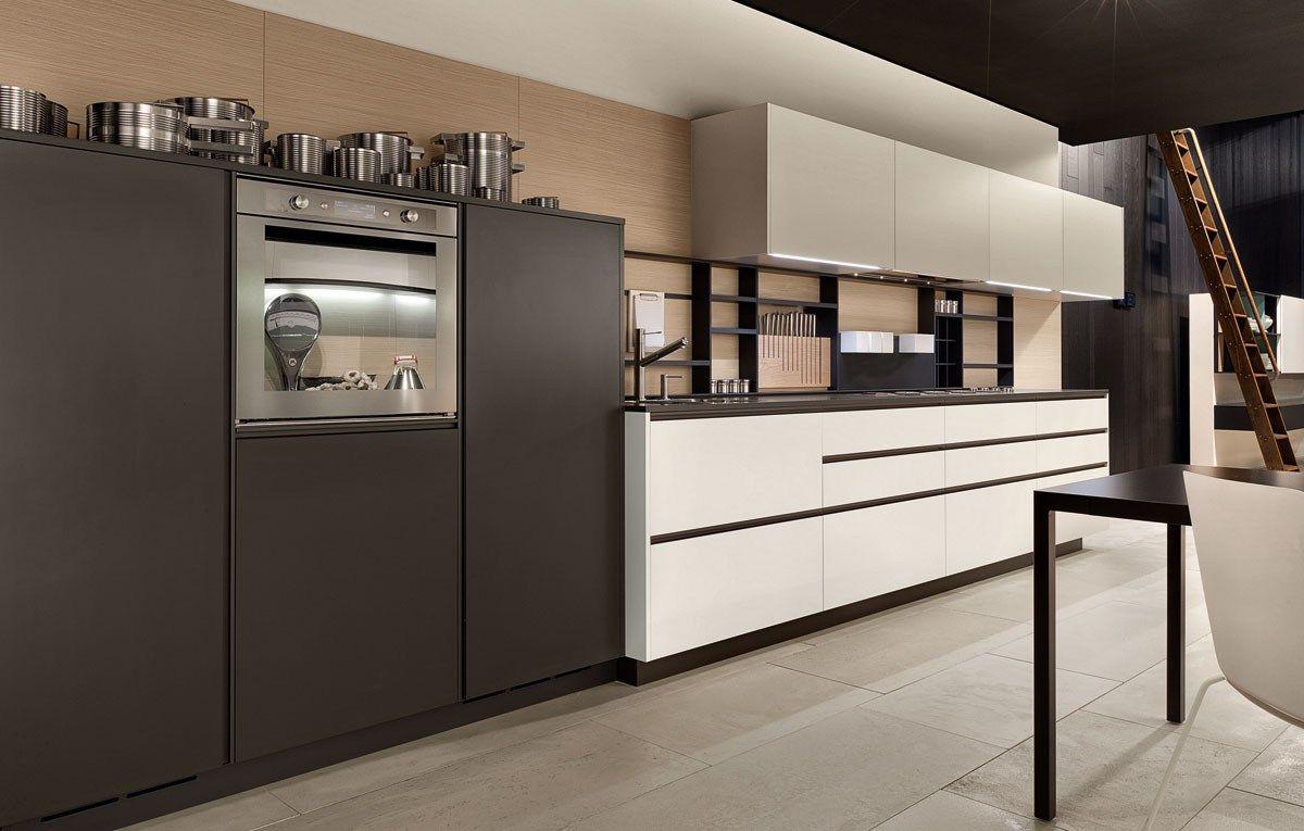 Lacquered Kitchen With Handles My Planet By Varenna By Poliform Kitchen Inspiration Modern Modern Kitchen Design Kitchen Fittings