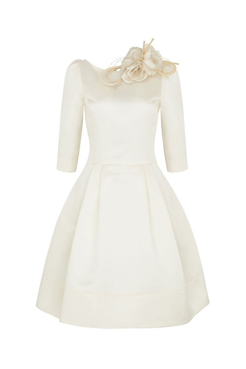 Wedding short dress  Ultimate tailored short wedding dress with us reference