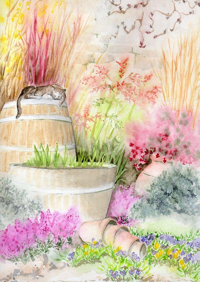 Angela Berry Watercolour