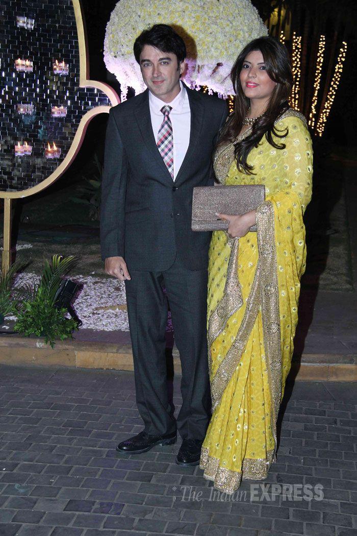 Manishmalhotras Nieces Reception Bollywood Fashion