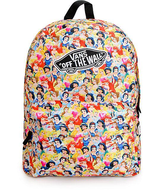 Disney x Vans Multi Princess Backpack